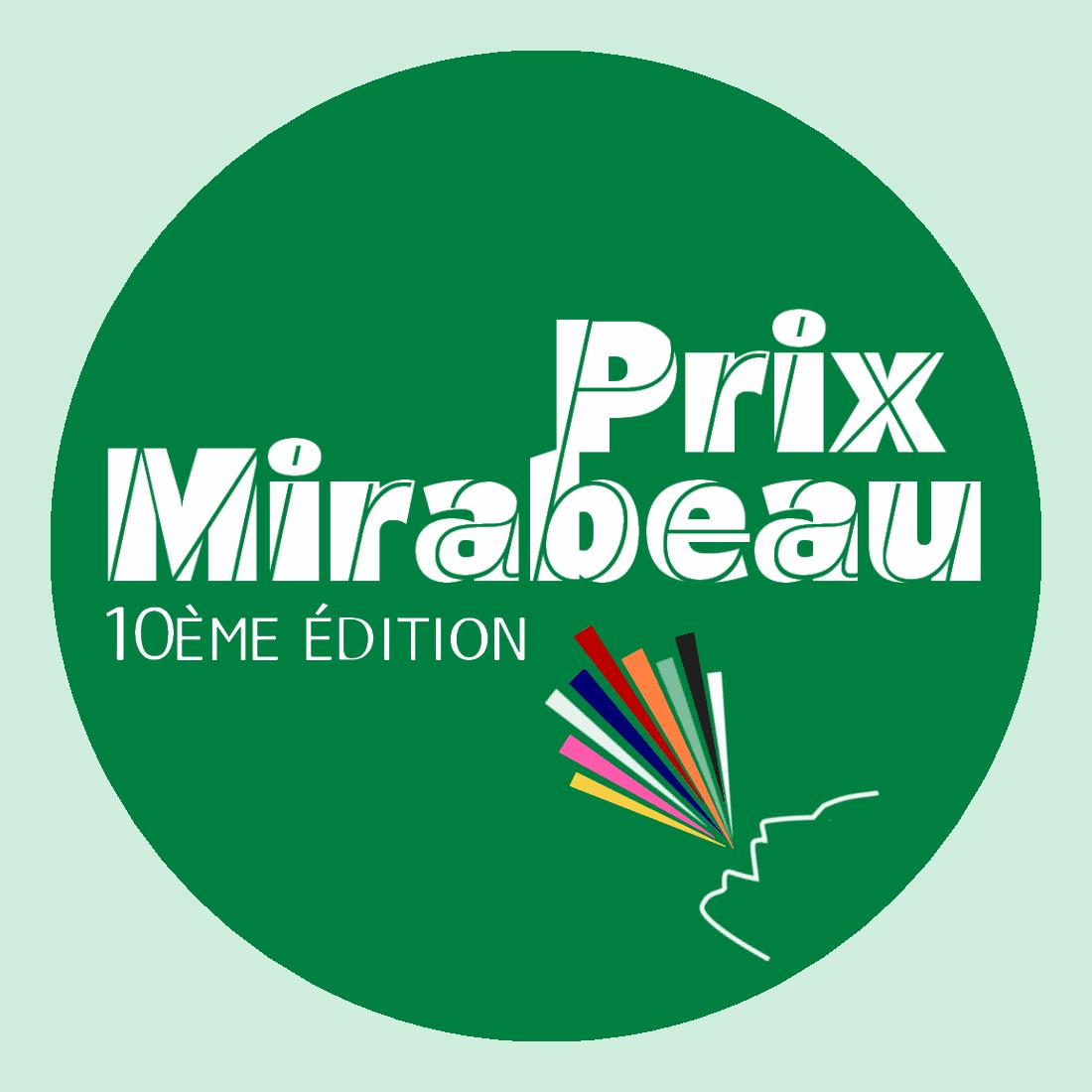 Prix Mirabeau – Edition 2020